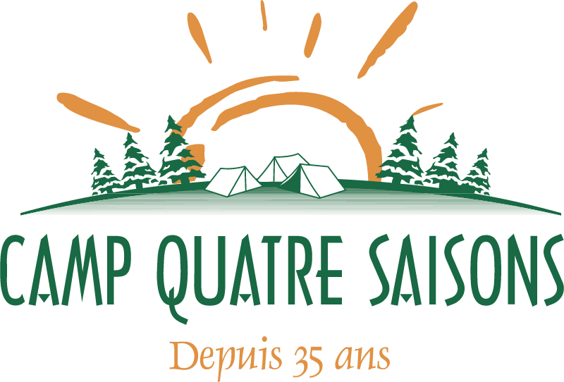 Camp Quatre Saisons vector logo