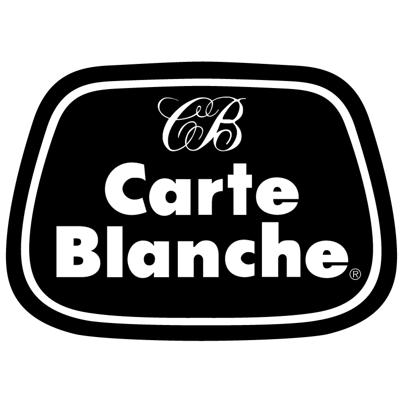 Carte Blanche vector