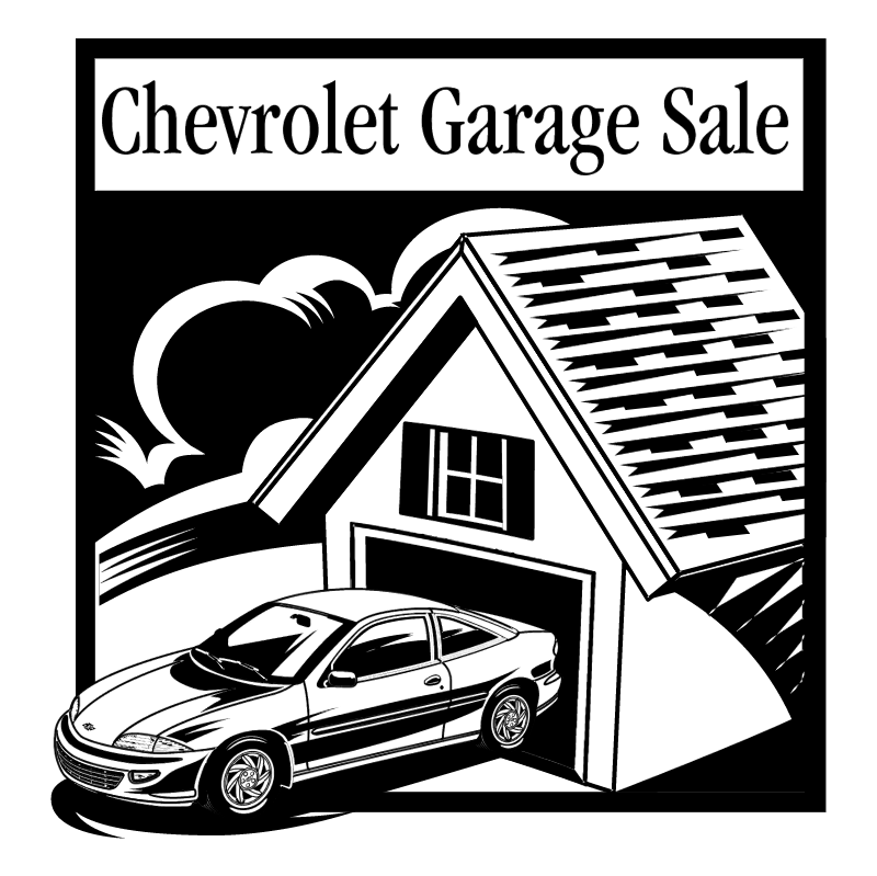 Chevrolet Garage Sale vector