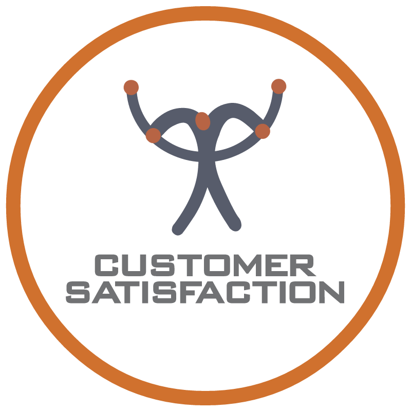 Customer Satisfaction vector logo