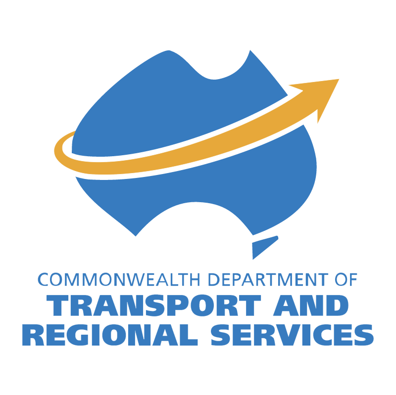 Department of Transport and Regional Services vector logo
