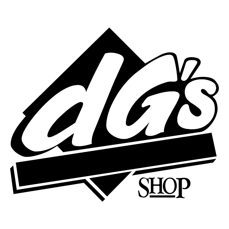 DG's Shop vector logo