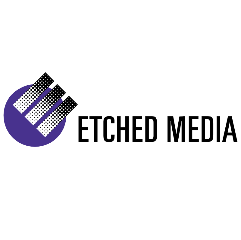 Etched Media vector logo