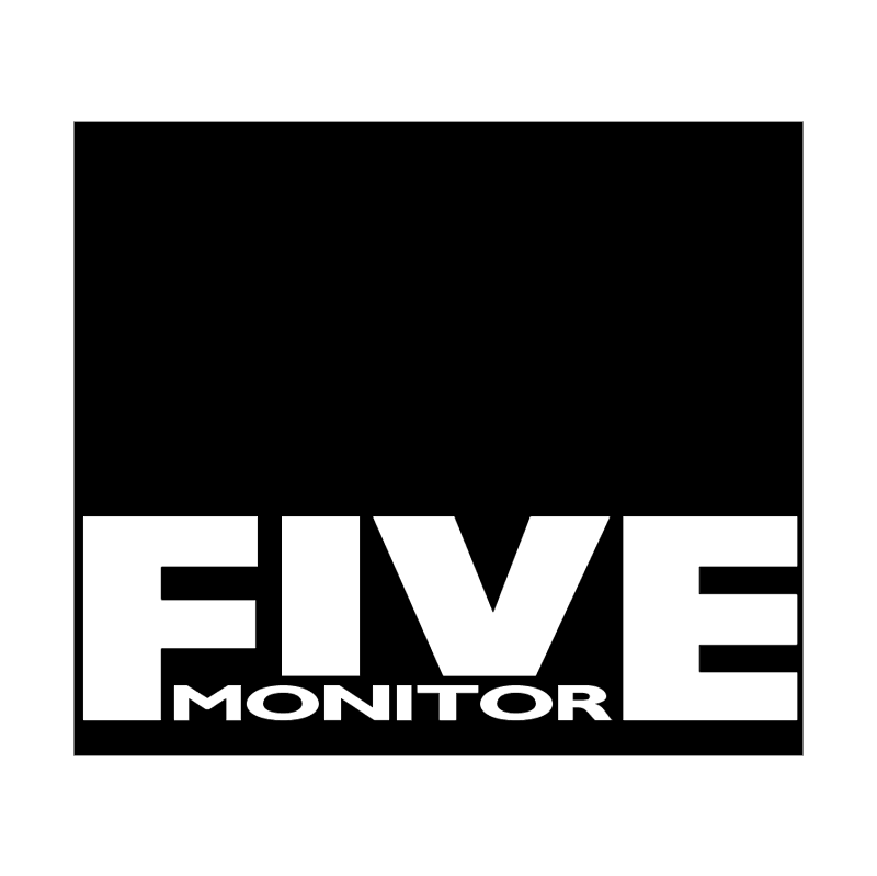 Five Monitor vector logo