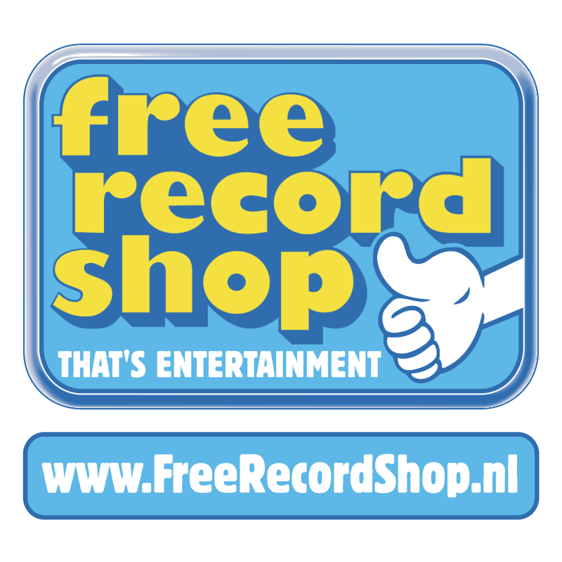 Free Record Shop vector logo