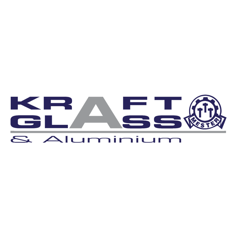 Kraft Glass & Aluminium vector
