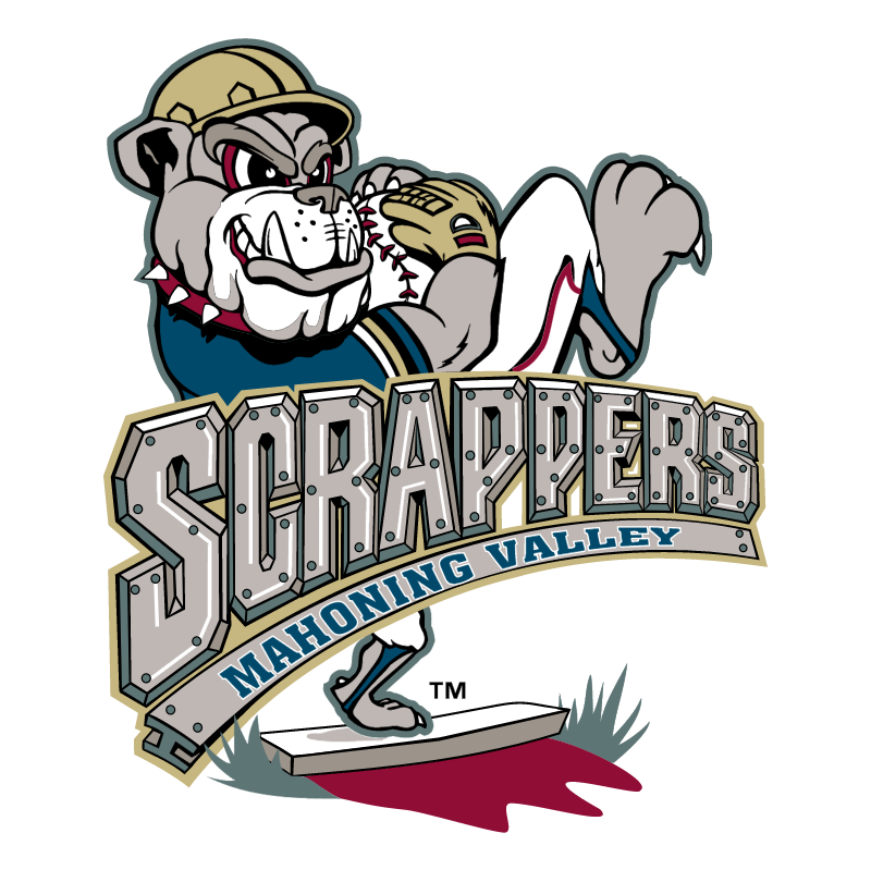 Mahoning Valley Scrappers vector logo