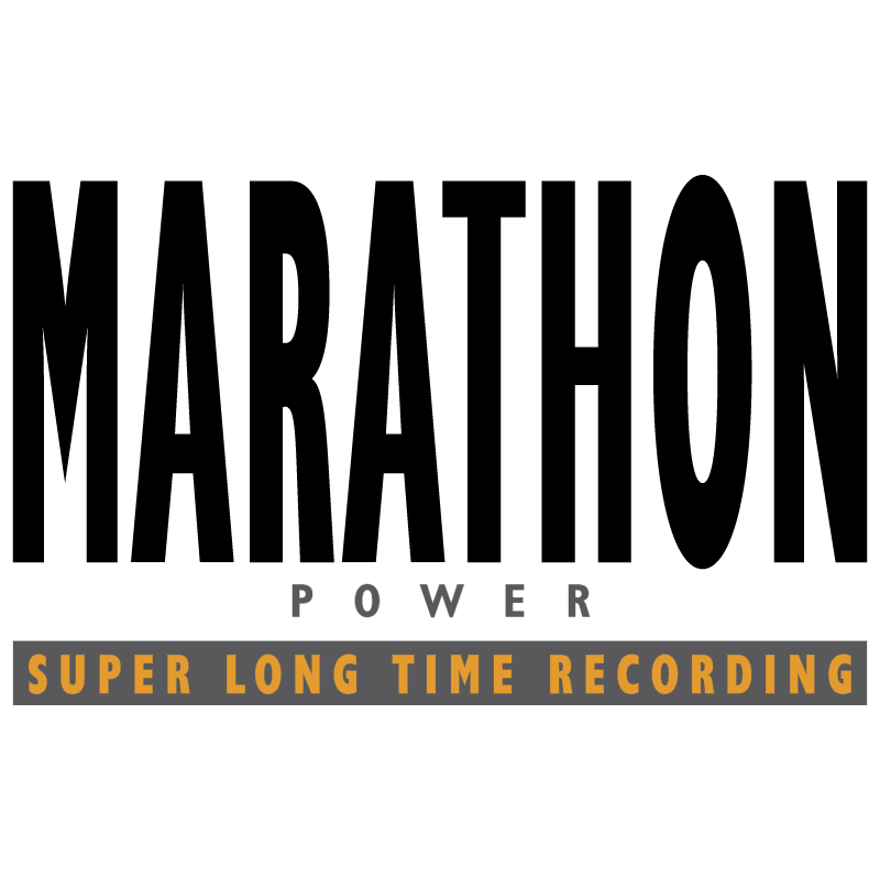 Marathon Power vector