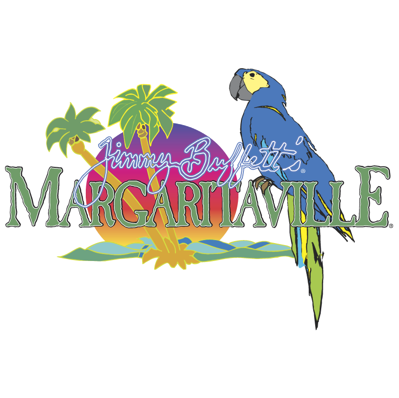 Margaritaville Jimmy Buffetts vector