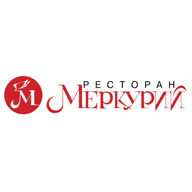Mercury Restaurant vector logo