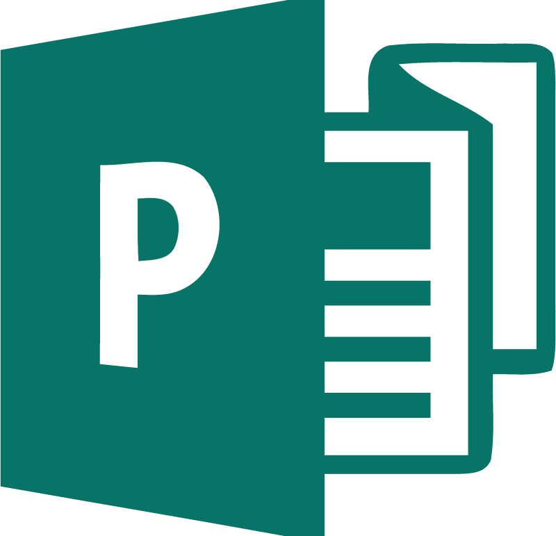 Microsoft Publisher 2013 vector