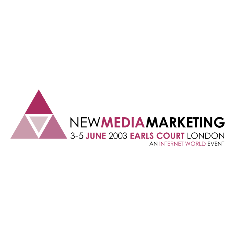 New Media Marketing vector logo