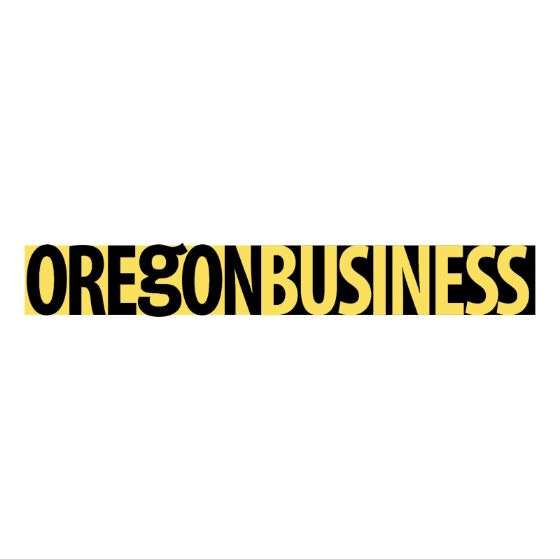 Oregon Business vector logo