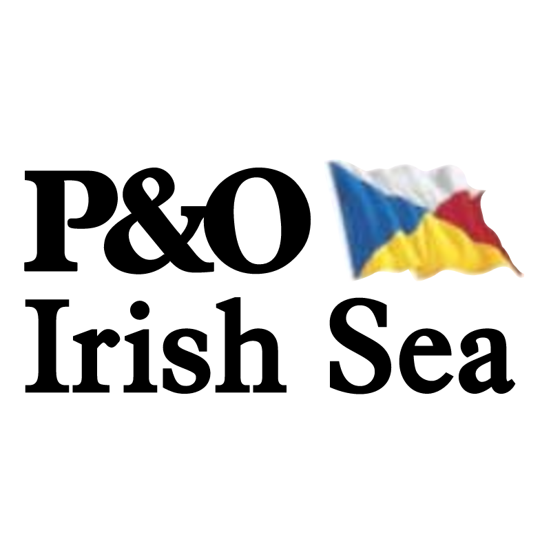 P&O Irish Sea vector