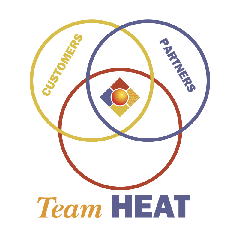 Team HEAT vector