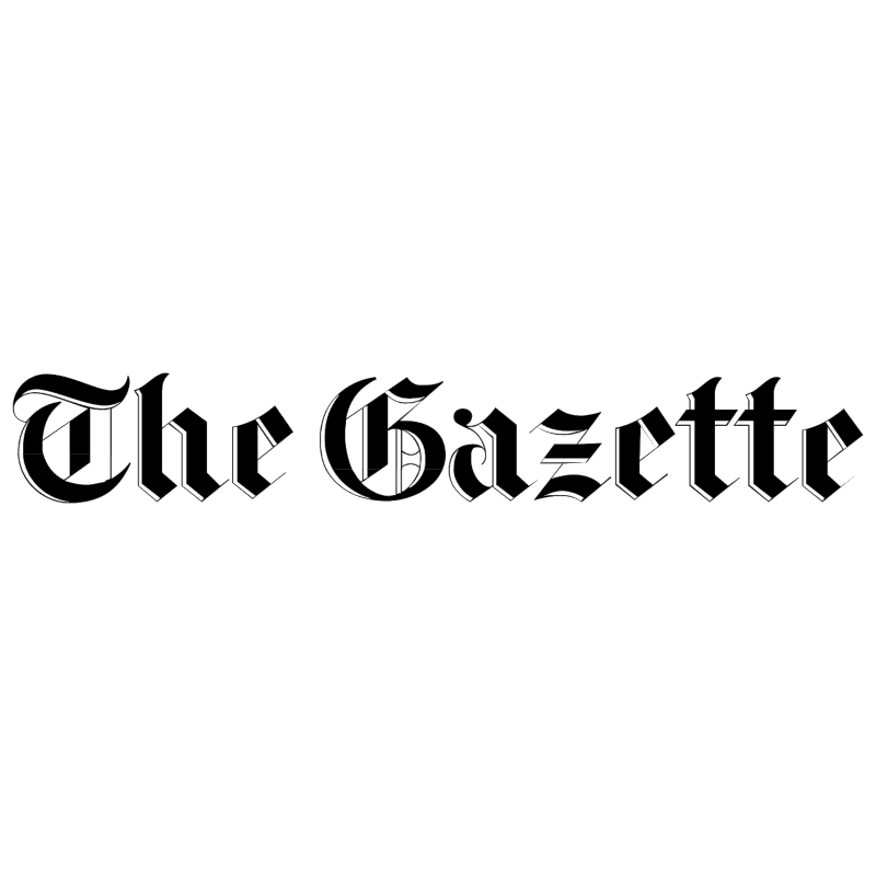 The Gazette vector logo