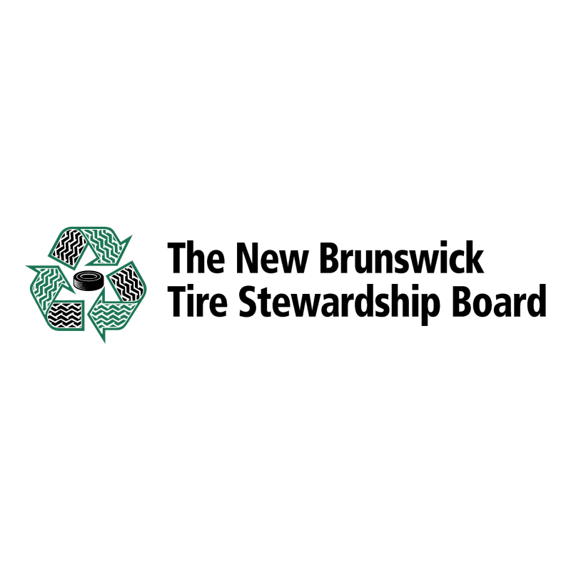 The New Brunswick Tire Stewardship Board vector
