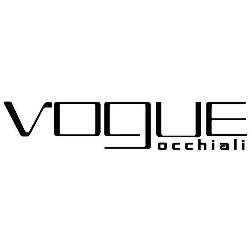 Vogue Occhiali vector logo