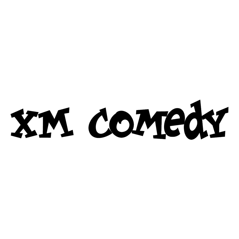 XM Comedy vector logo