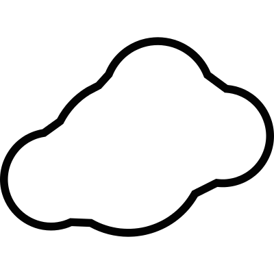 Cloud Alone vector logo