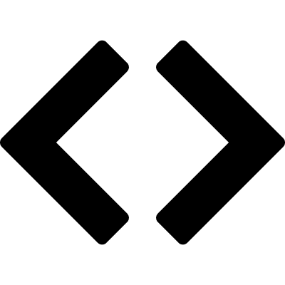 Code sign vector logo