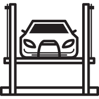 Car Lift vector