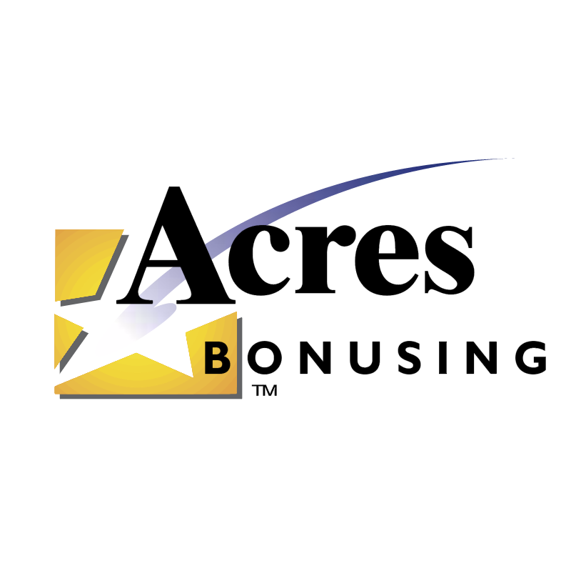 Acres Bonusing vector logo