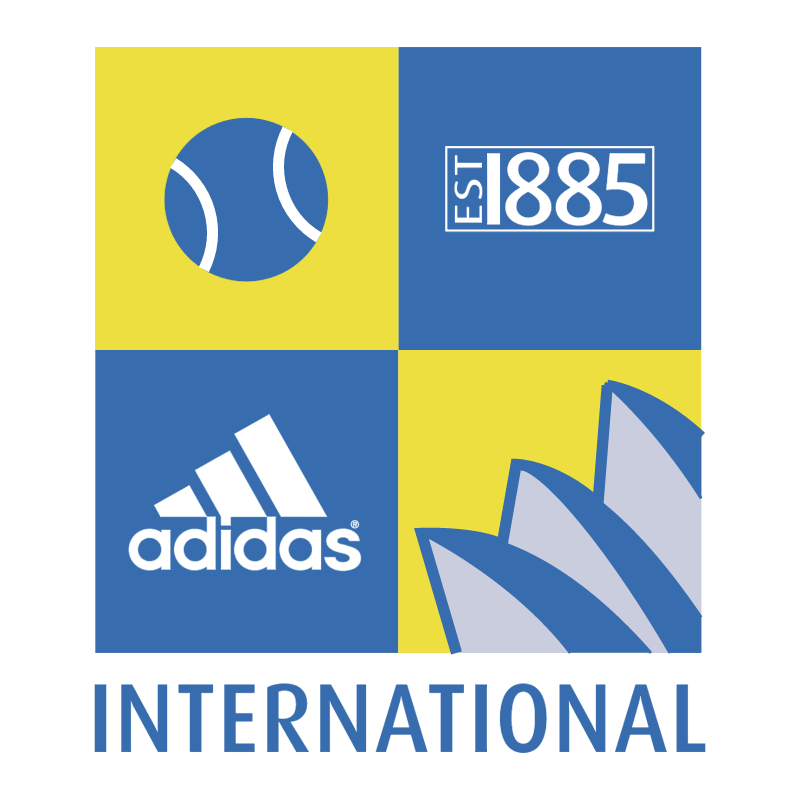 Adidas International vector