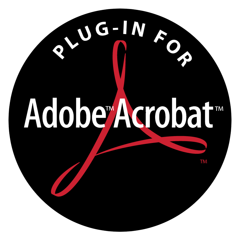 Adobe Acrobat Plug In For vector logo