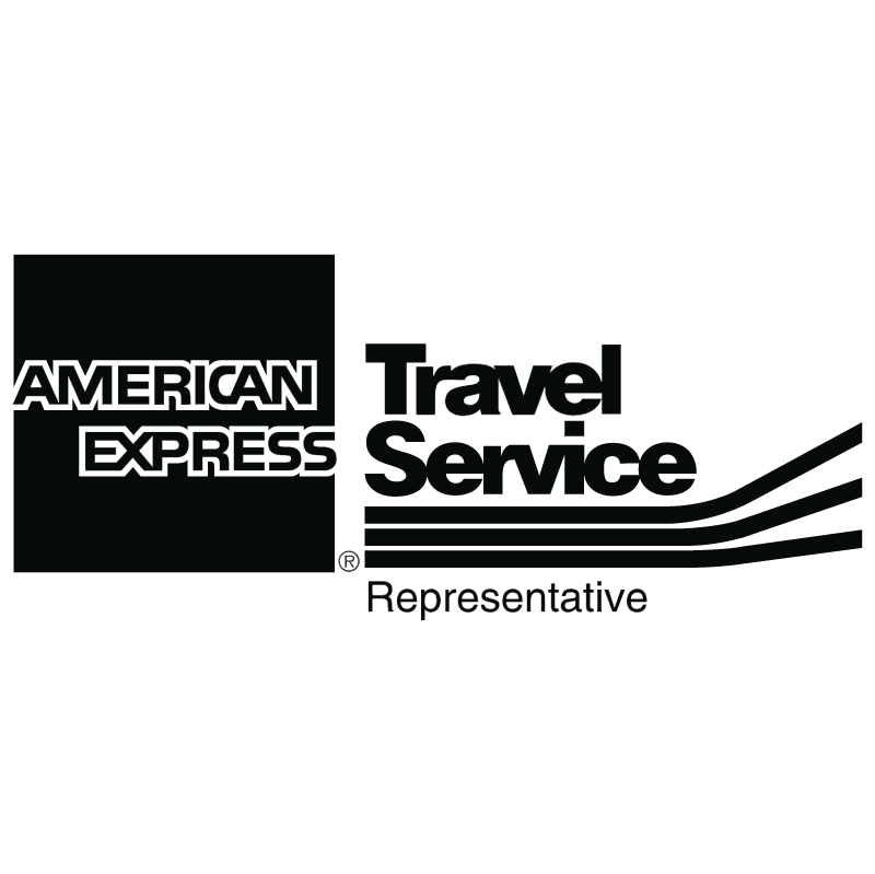 American Express Travel Service vector