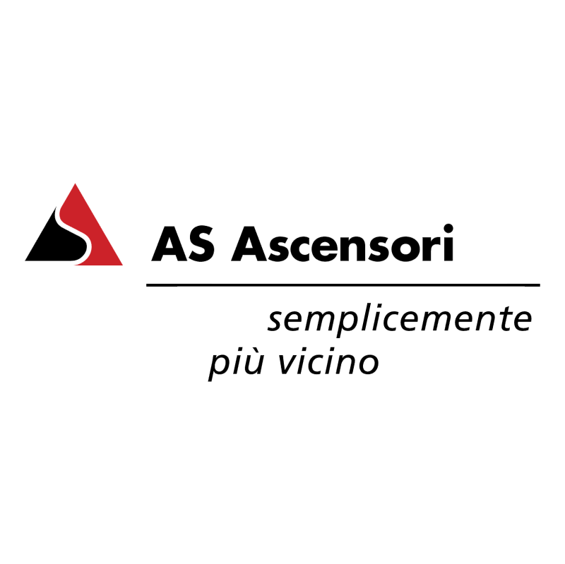 AS Ascensori vector