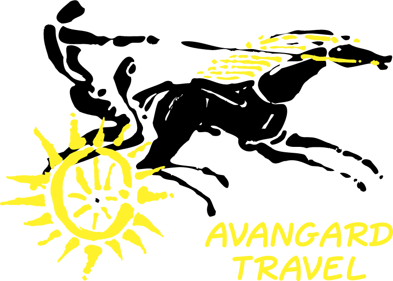 Avangard Travel vector logo