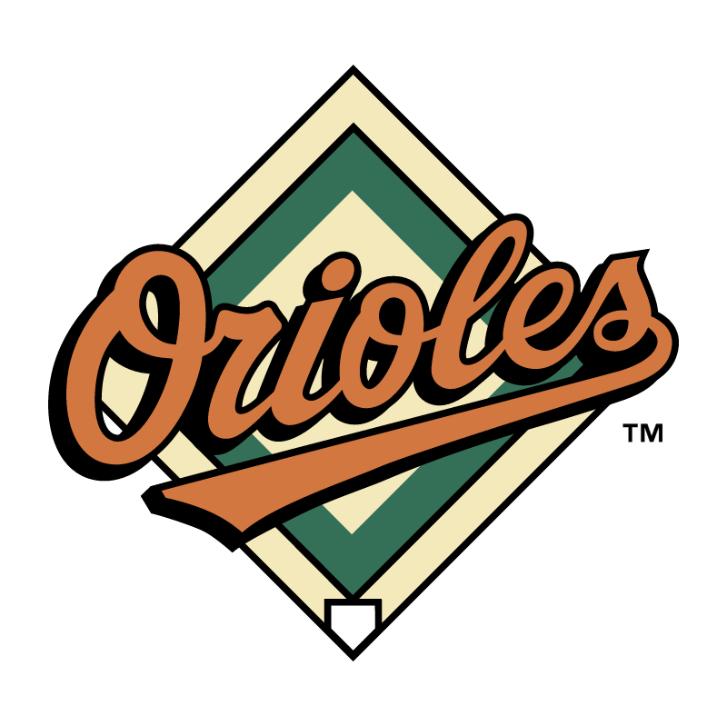 Baltimore Orioles 73322 vector