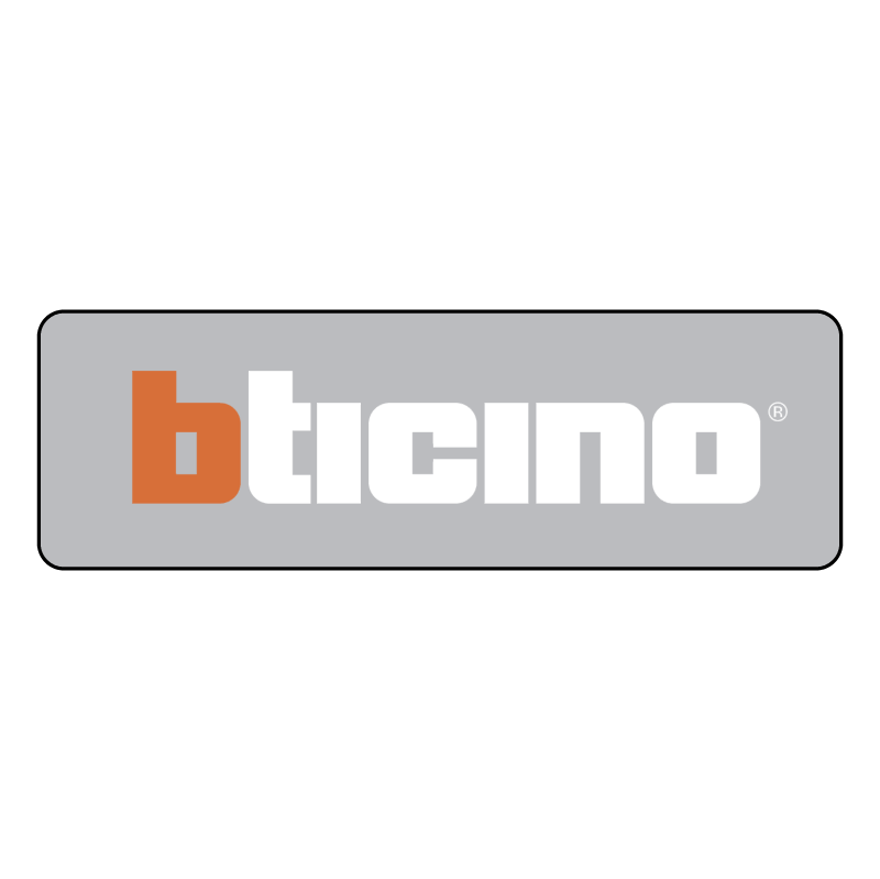 BTicino Electric 52486 vector logo