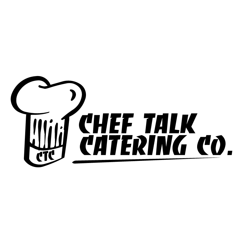 Chef Talk Catering Co vector logo
