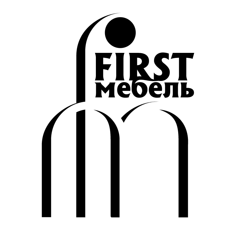First Mebel vector logo