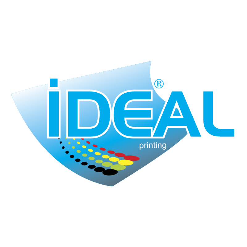 Ideal Printing vector logo