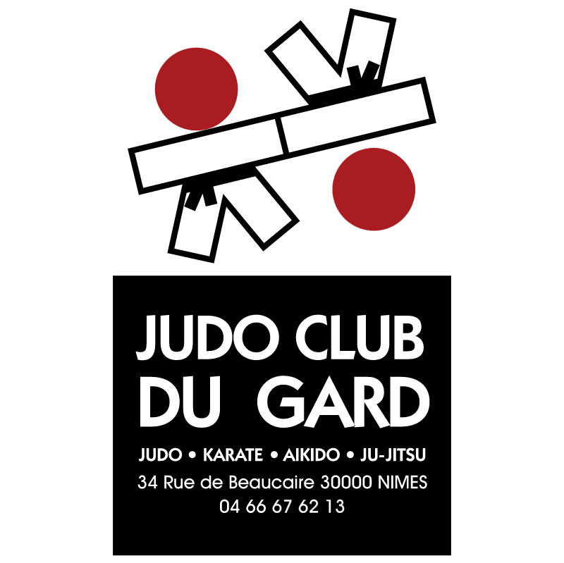 Judo Club du Gard vector