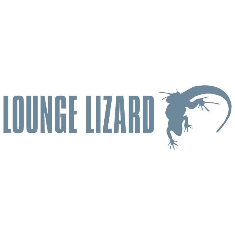 Lounge Lizard vector
