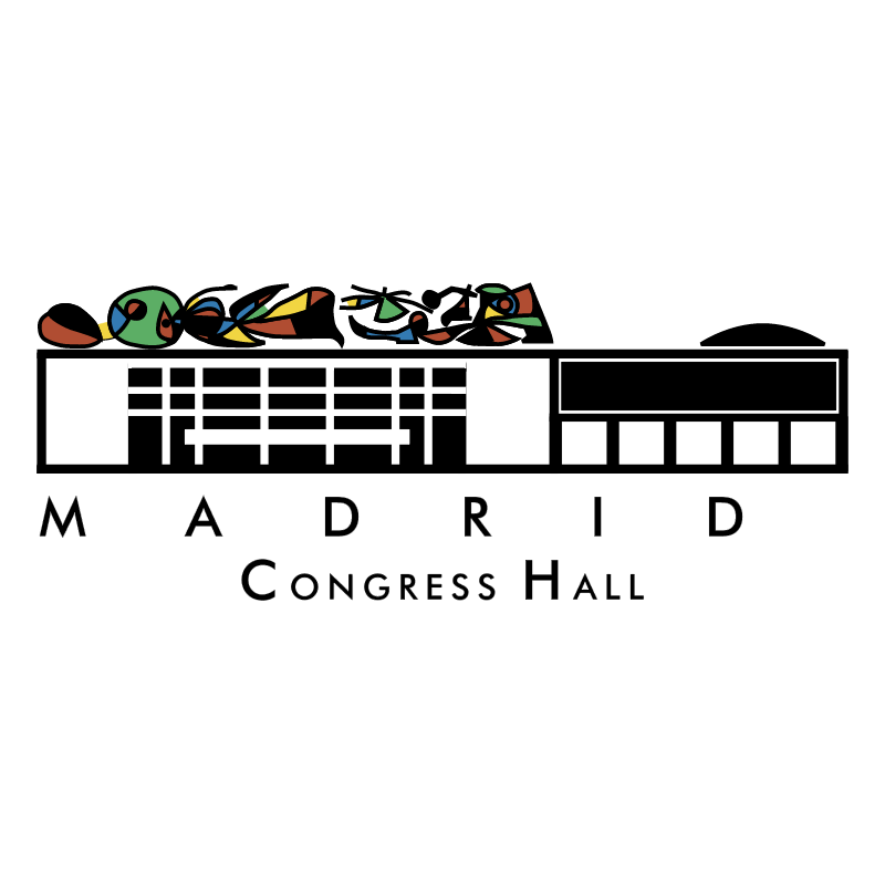 Madrid Congress Hall vector