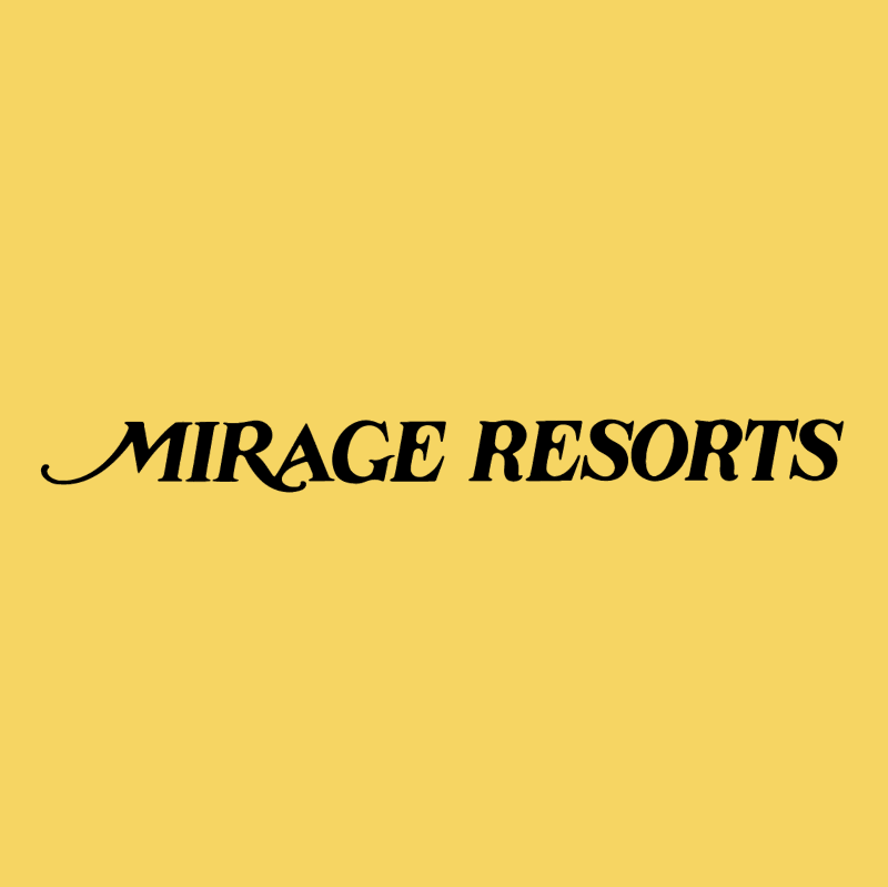 Mirage Resorts vector