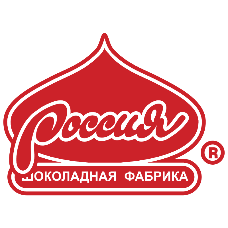 Russia Chocolate Factory vector