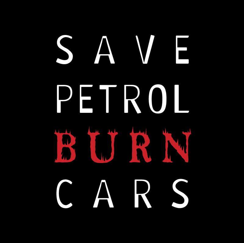 Save Petrol vector logo
