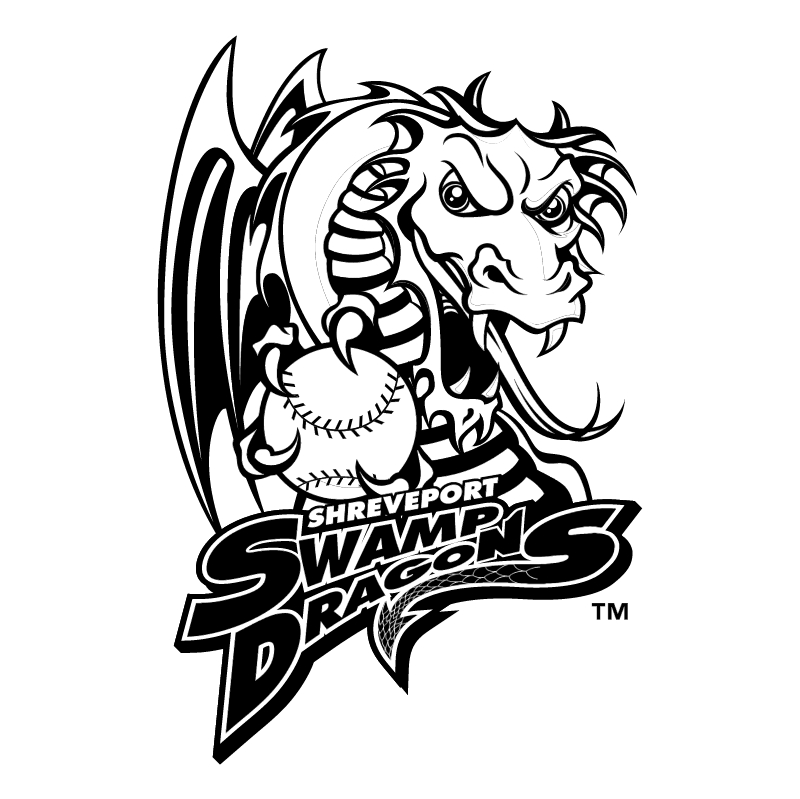 Shreveport Swamp Dragons vector logo