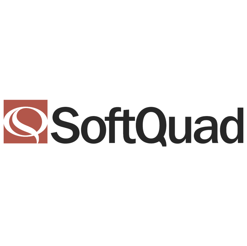 SoftQuad vector logo