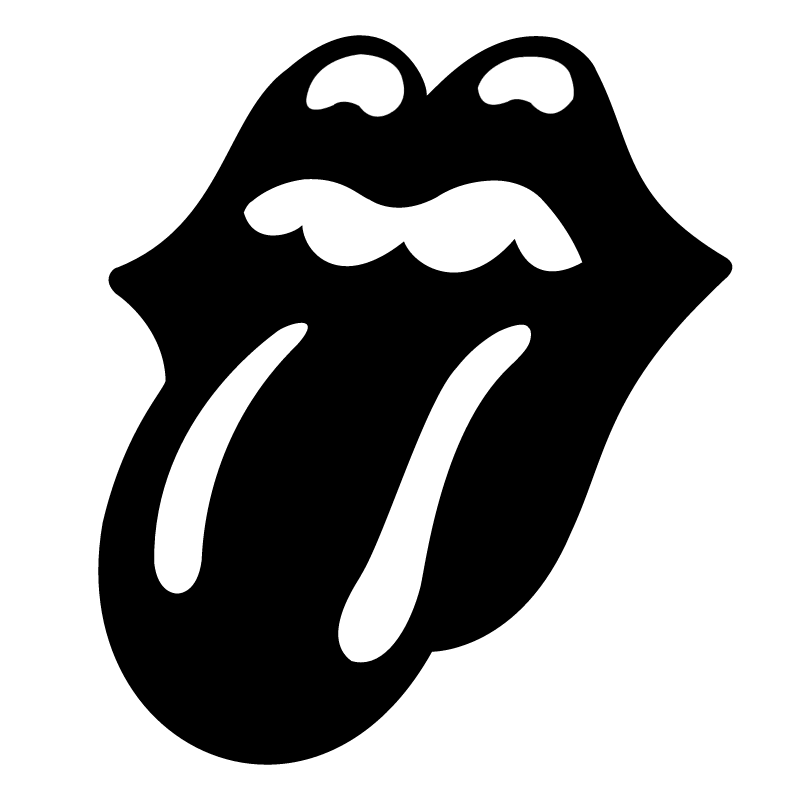 The Rolling Stones Tongue vector