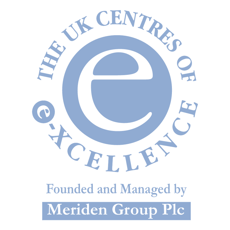 The UK Centres of e xcellence vector