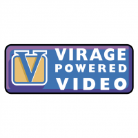 Virage Powered Video vector