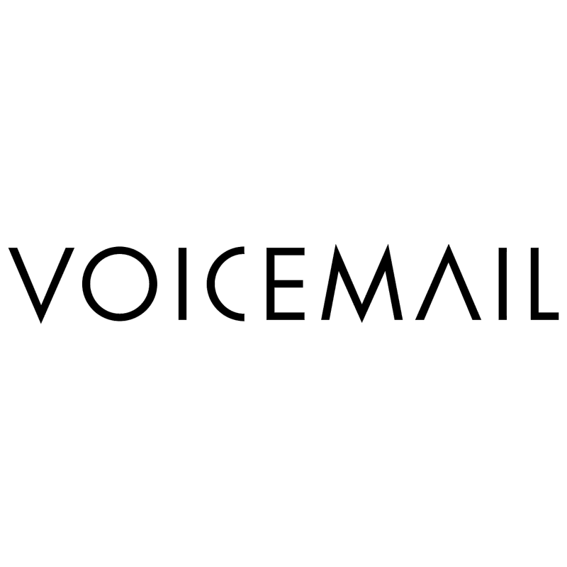Voicemail vector logo