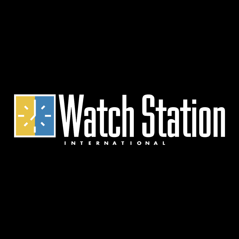 Watch Station vector logo